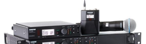 Wireless Audio Shure ULX-D