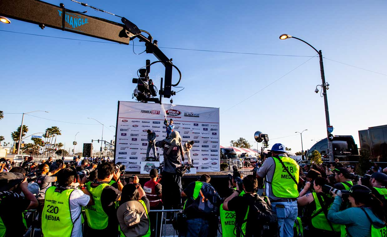 Live stream outdoor events with Jimmy Jib
