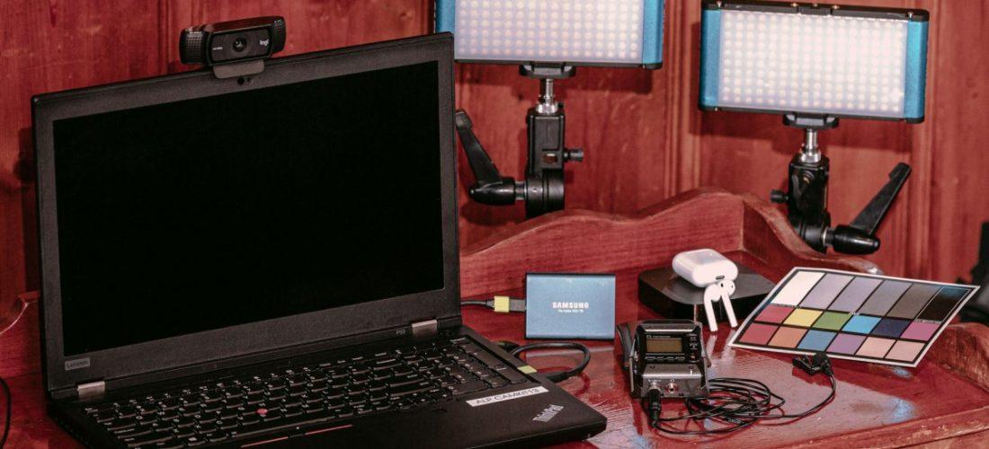 Remote Live Stream Interview Kits
